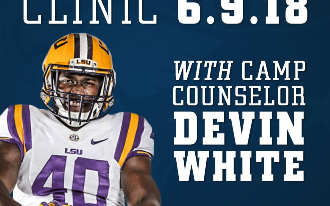 LSU's Devin White to be Camp Counselor at Youth Football Clinic