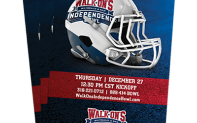 Public Tickets for 2018 Walk-On's Independence Bowl on SaleBeginning September 1