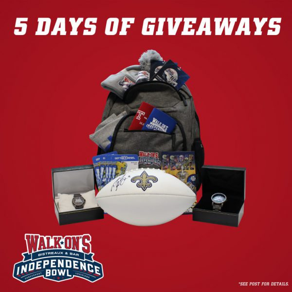 Five Days of Giveaways Begins Monday, December 14